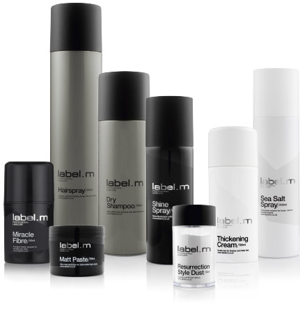Label M Professional treatment range